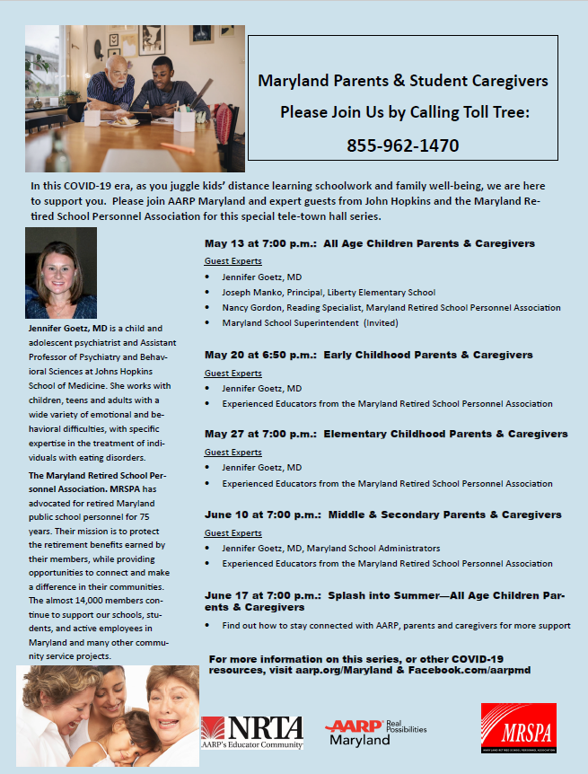Tele-Town Hall for Parents Series